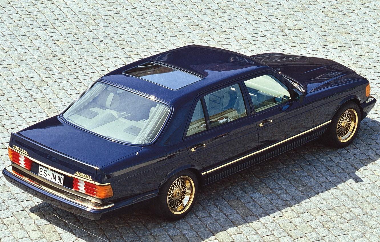 Photo wallpaper Mercedes-benz, sedan, w126, 1000SEL