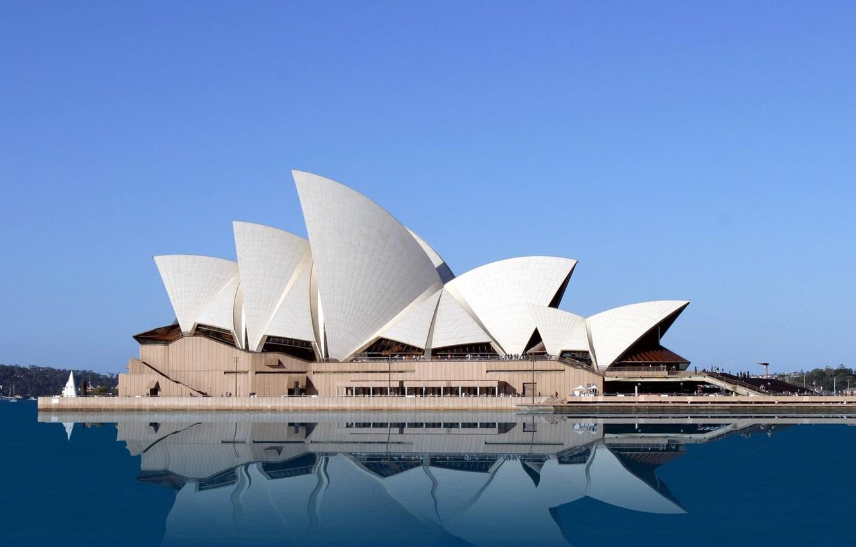 Photo wallpaper House, Opera, Australia, Sydney, NSW, Point, Benalong