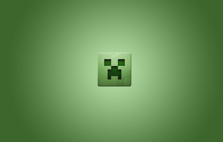 Photo wallpaper square, minecraft, minecraft, creeper