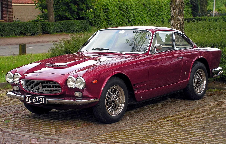 Photo wallpaper Maserati, vintage, 1965, retro, legend, retro car, old cars, vintage car, sebring