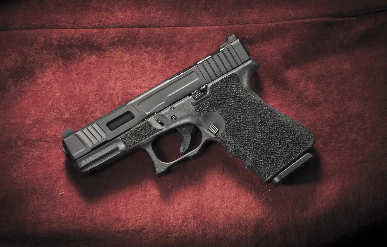 Photo wallpaper weapons, Austria, Glock 19, self-loading pistol, Mark 2