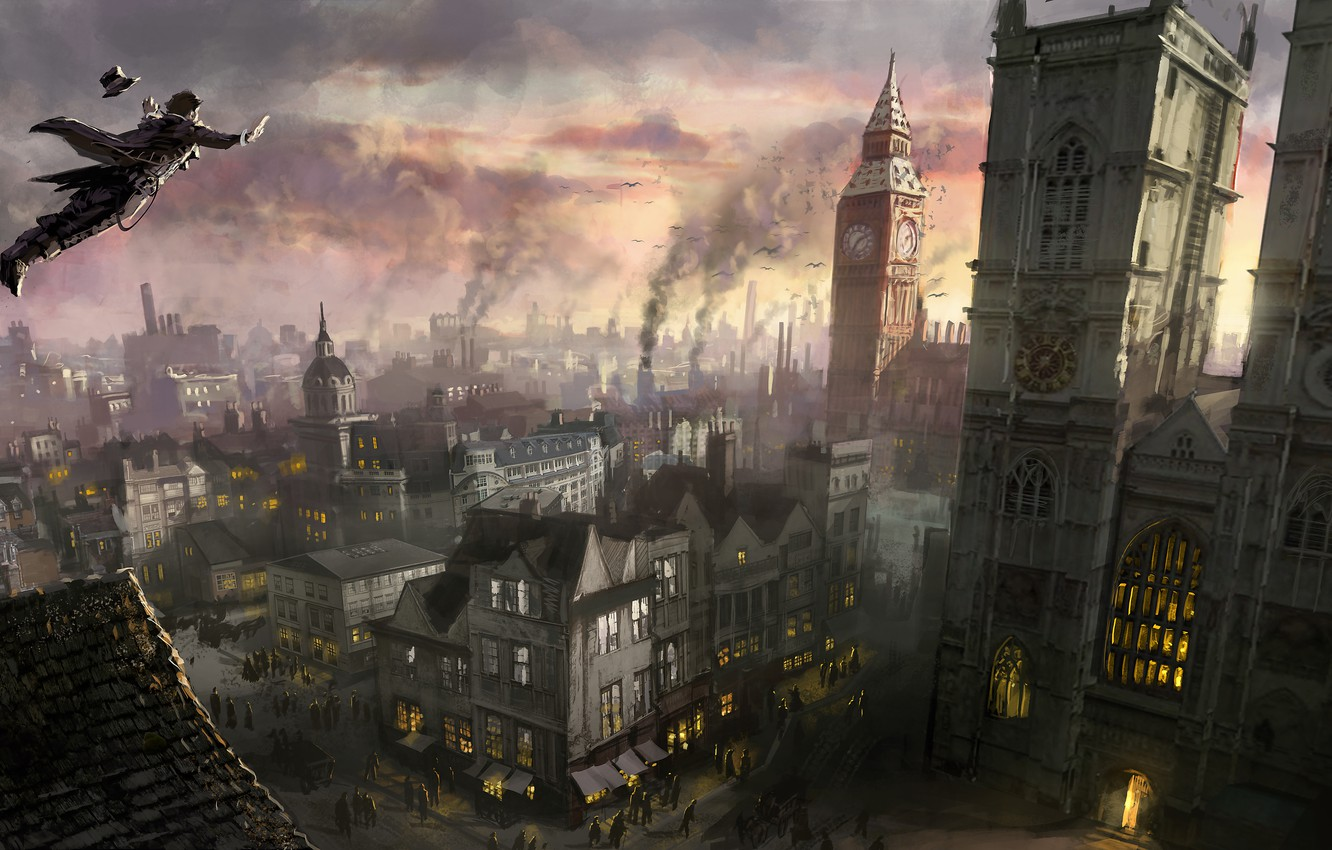 Wallpaper London Assassins Creed Art Ubisoft Syndicate