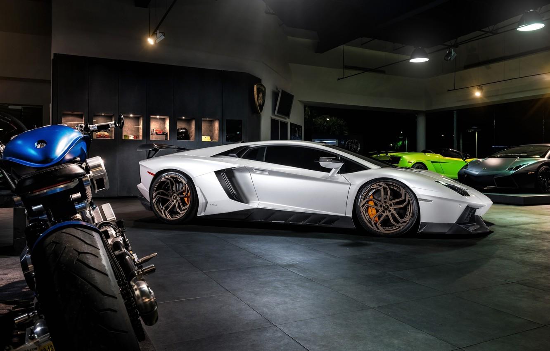 Photo wallpaper car, tuning, tuning, LP700-4, rechange, Lamborghini Aventador, Novitec Torado