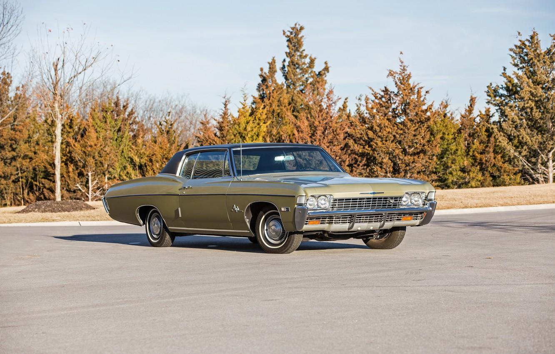 Photo wallpaper coupe, Chevrolet, Chevrolet, Coupe, Impala SS, 1968, Custom, Impala