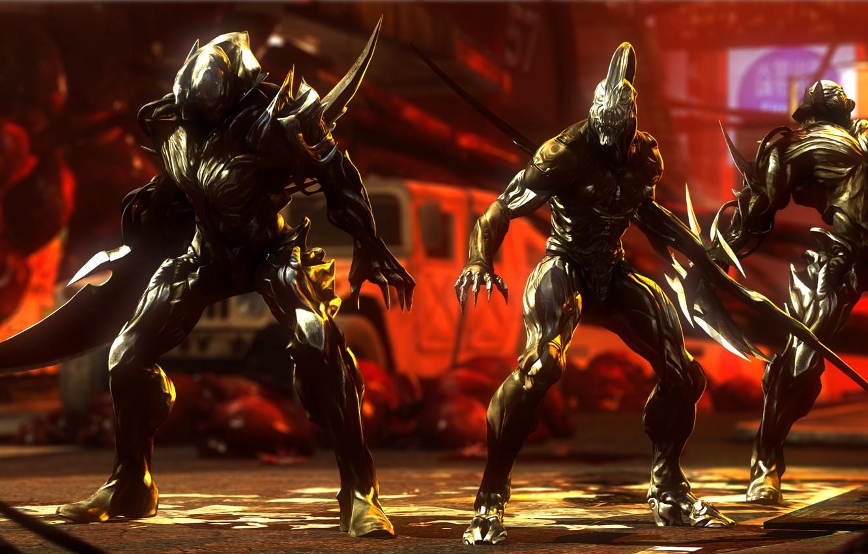 Photo wallpaper crossover, prototype 2, dark sector, alex mercer, nemesis, warframe