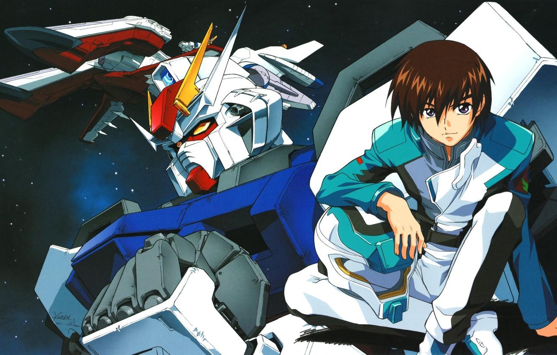 Wallpaper Helmet Form Guy Starry Sky Gundam Seed Combat