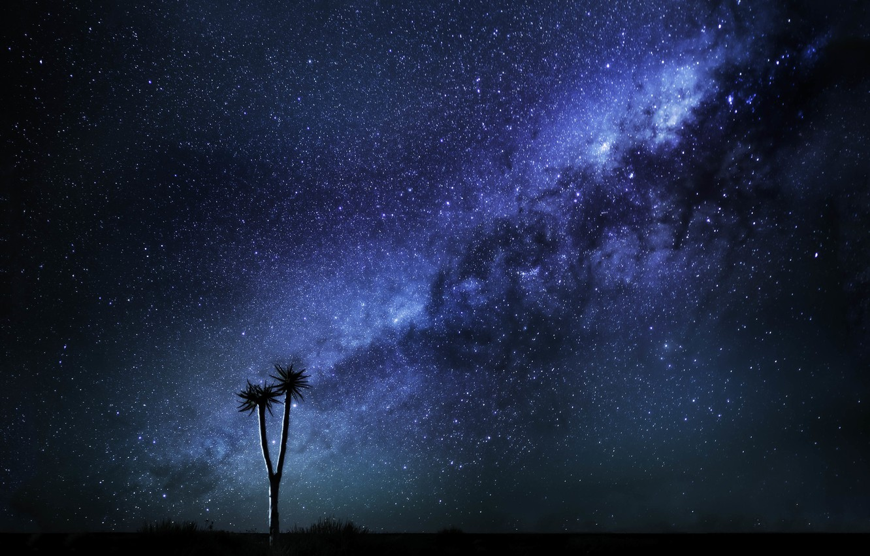 Photo wallpaper Space, Way, Milky