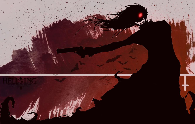 Photo wallpaper vampire, Alucard, Hellsing