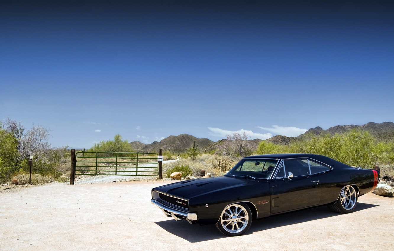 Photo wallpaper dodge, power, charger, r/t