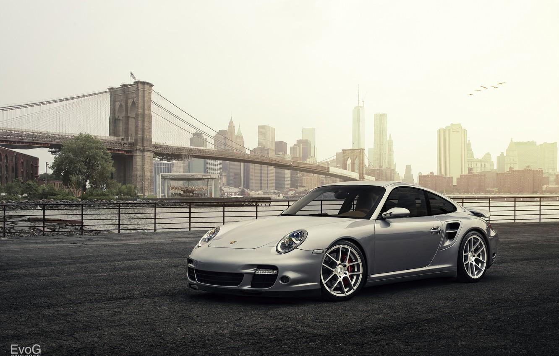 Photo wallpaper car, Porsche 911 Turbo, Evano Gucciardo, evog