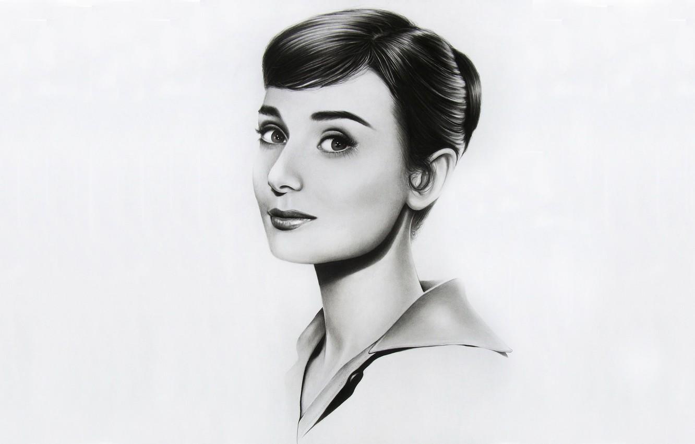 Wallpaper Figure Art Audrey Hepburn Images For Desktop