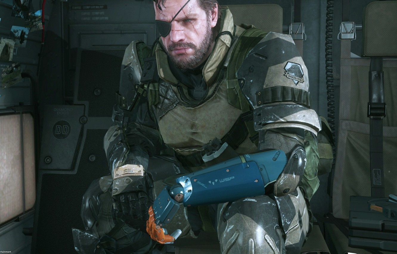 Wallpaper Kojima Productions Big Boss Metal Gear Solid V The