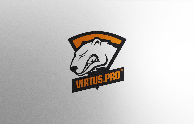 Wallpaper Logo Game Team Minimalism Csgo Virtuspro