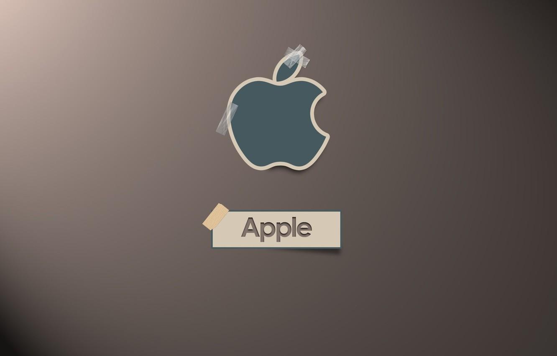 Photo wallpaper apple, logo, Scotch