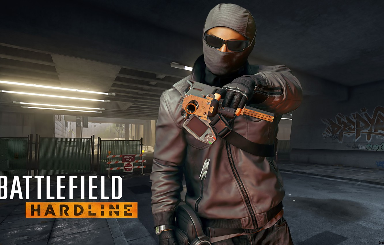 Wallpaper Mask Glasses Ultrasound Criminal Visceral Games Battlefield Hardline Images For Desktop Section Igry Download