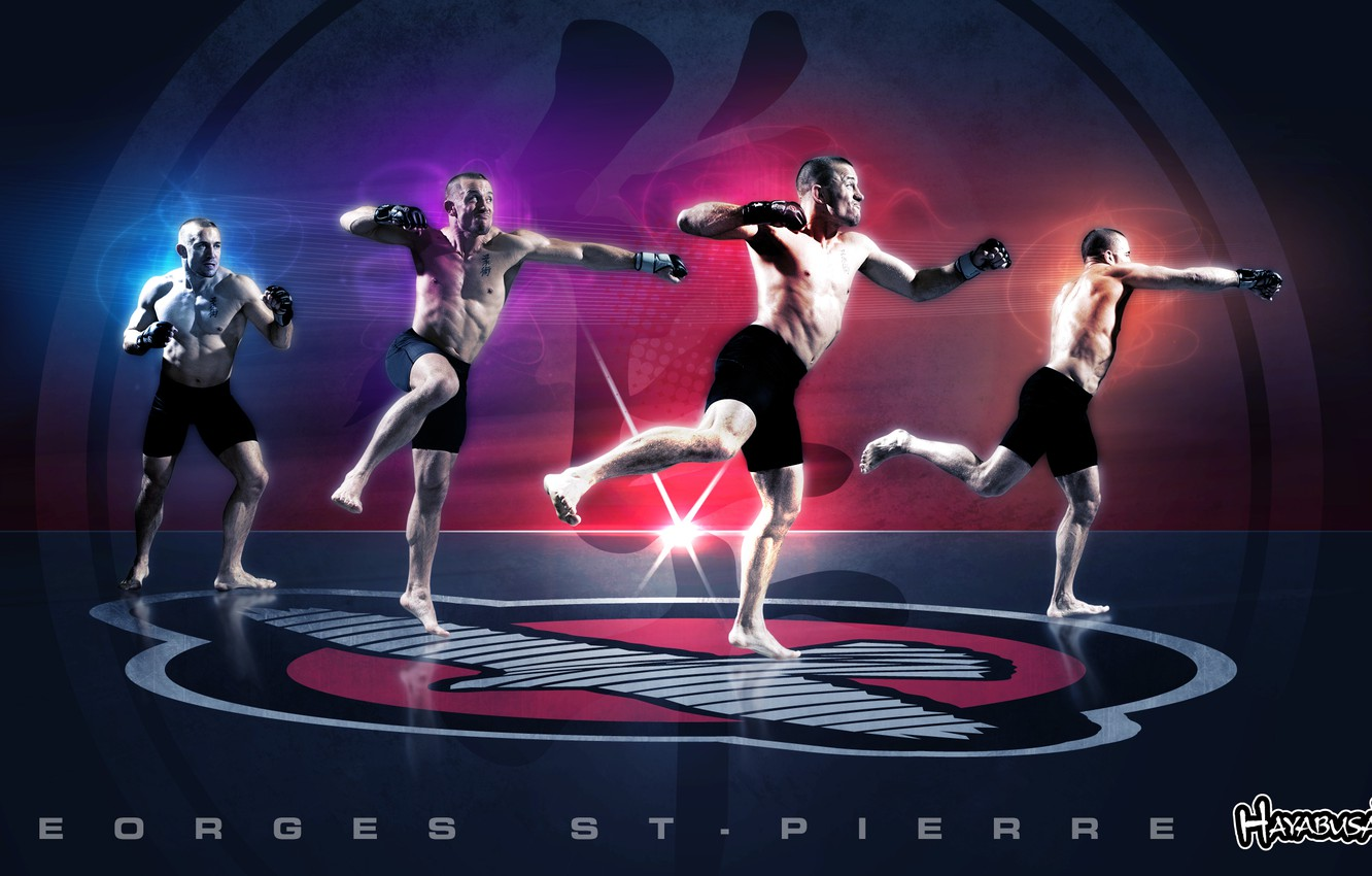 Wallpaper Mma Ufcchampion St Pierre Georges Welterweight Images
