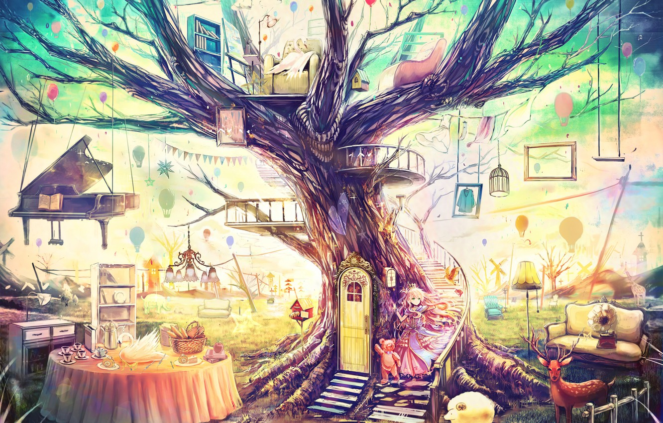 Photo wallpaper toys, anime Wallpapers, art wallpapers, Feng Shui, Fairy world