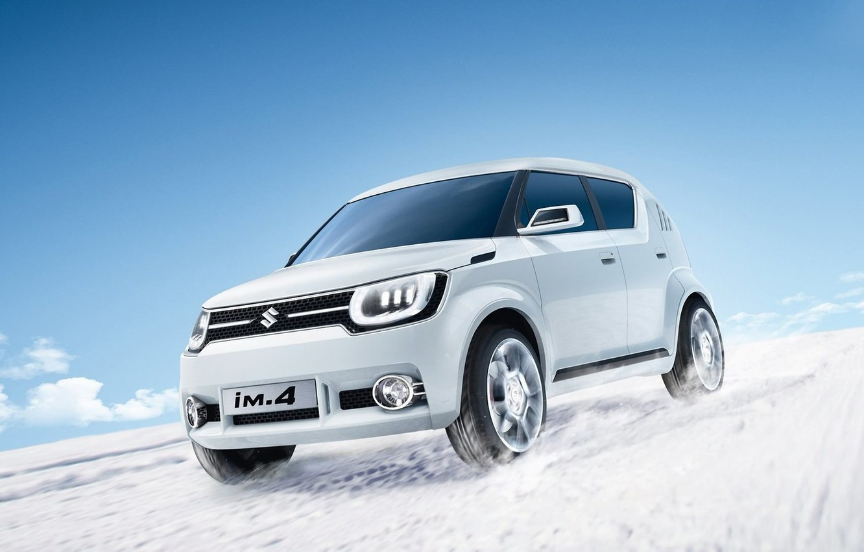 Photo wallpaper white, photo, concept, crossover, 2015, Suzuki iM4