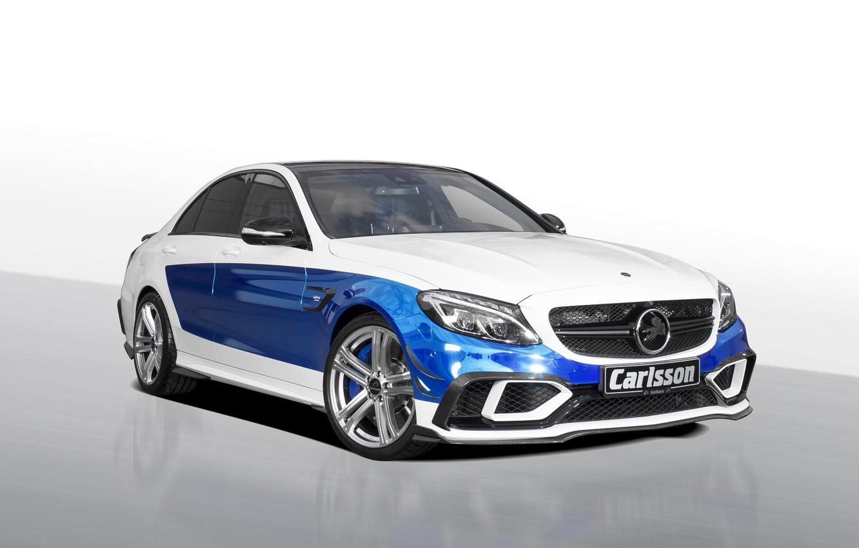 Photo wallpaper Mercedes-Benz, Mercedes, Carlsson, 2015, C-Class, W205, Rivage