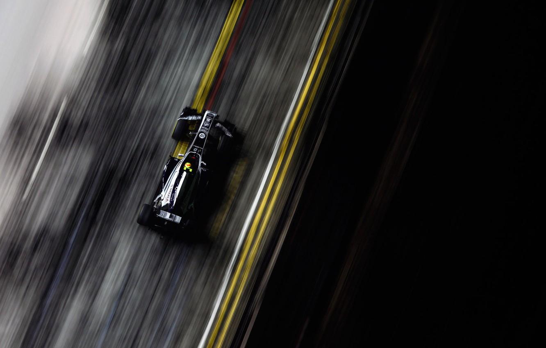 Photo wallpaper race, speed, track, formula 1, the car, grand prix, formula 1, 2011, Singapore, williams, singapore, …