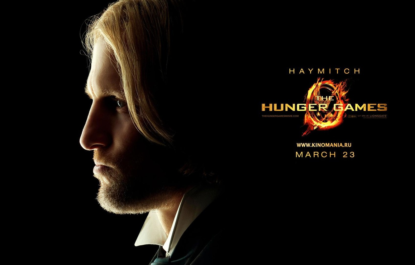 Photo wallpaper the film, the hunger games, the hunger games, woody Harrelson, woody harrelson