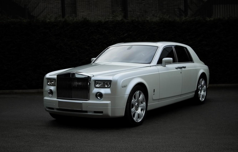 Photo wallpaper Phantom, 2009, Royce, Rolls, rolls Royce, phantom