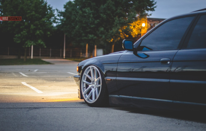 Photo wallpaper BMW, Boomer, BMW, tuning, Stance, E38, 740iL