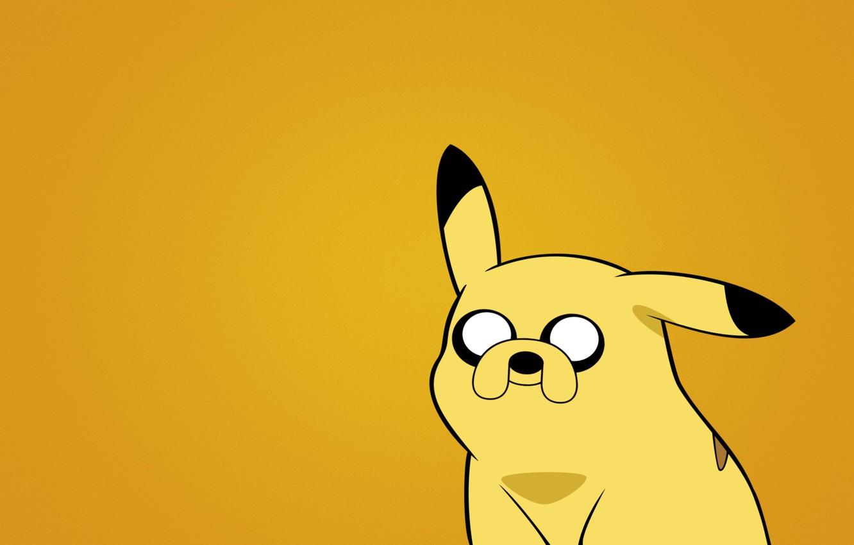 Photo wallpaper minimalism, the trick, Pokemon, pokemon, Pikachu, Adventure time with Finn and Jake, Adventure Time with …