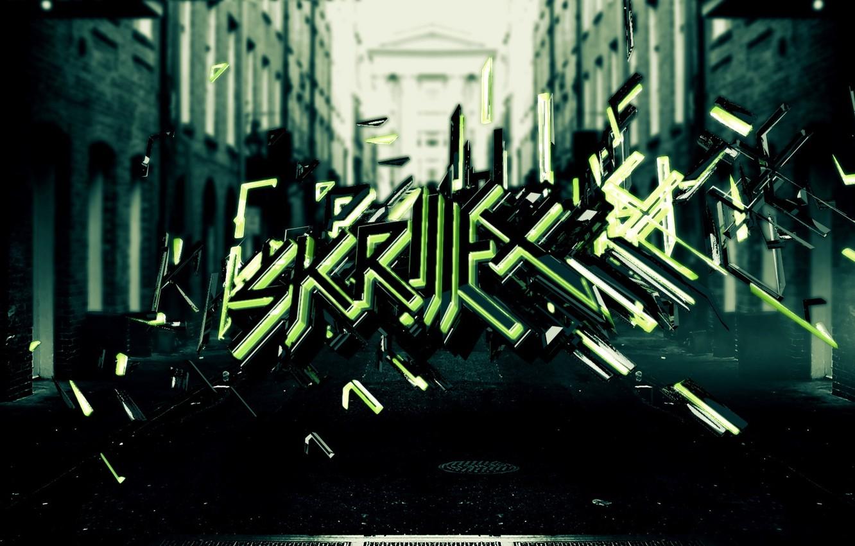 Photo wallpaper dubstep, dub, step, Skrillex