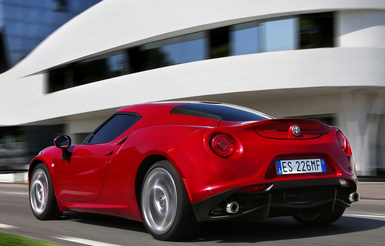 Photo wallpaper car, Alfa, romeo, Sport