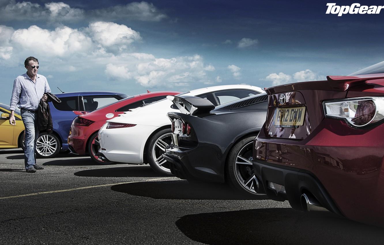 Photo wallpaper the sky, Audi, Ford, 911, Porsche, Lotus, Jeremy Clarkson, Top Gear, Suzuki, Toyota, Focus, Swift, …