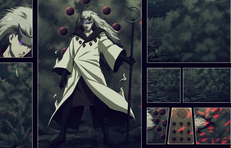 Photo wallpaper Naruto, Naruto, Akatsuki, Madara, Tobi, naruto shippuden, Manga, Power Uchiha, Madara, The Uchiha clan, The …