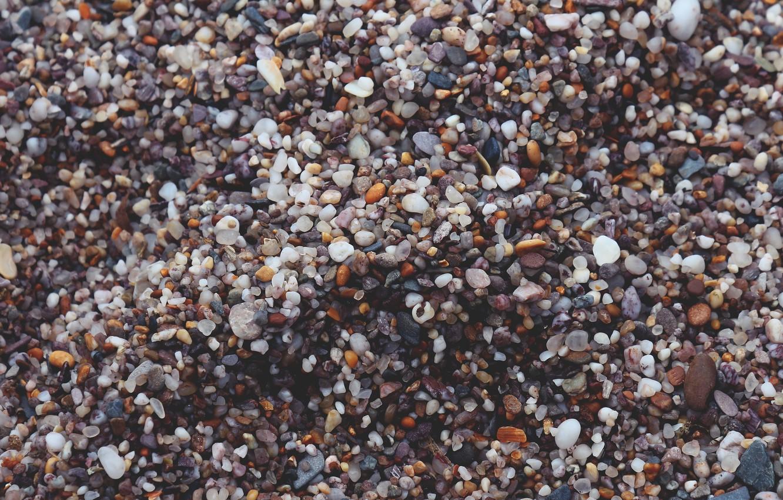 Photo wallpaper stones, a lot, different