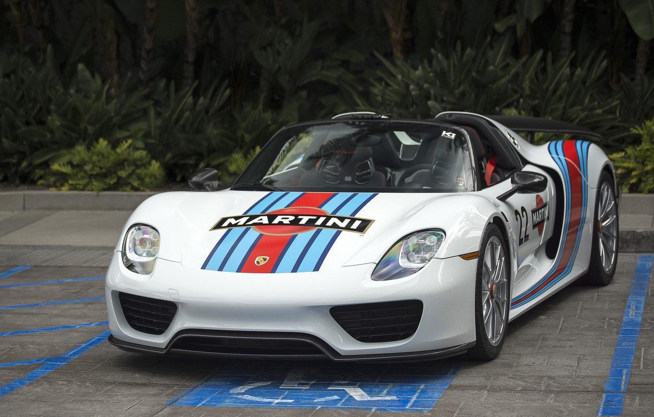 Photo wallpaper Porsche, sportscar, Porsche 918 Spyder