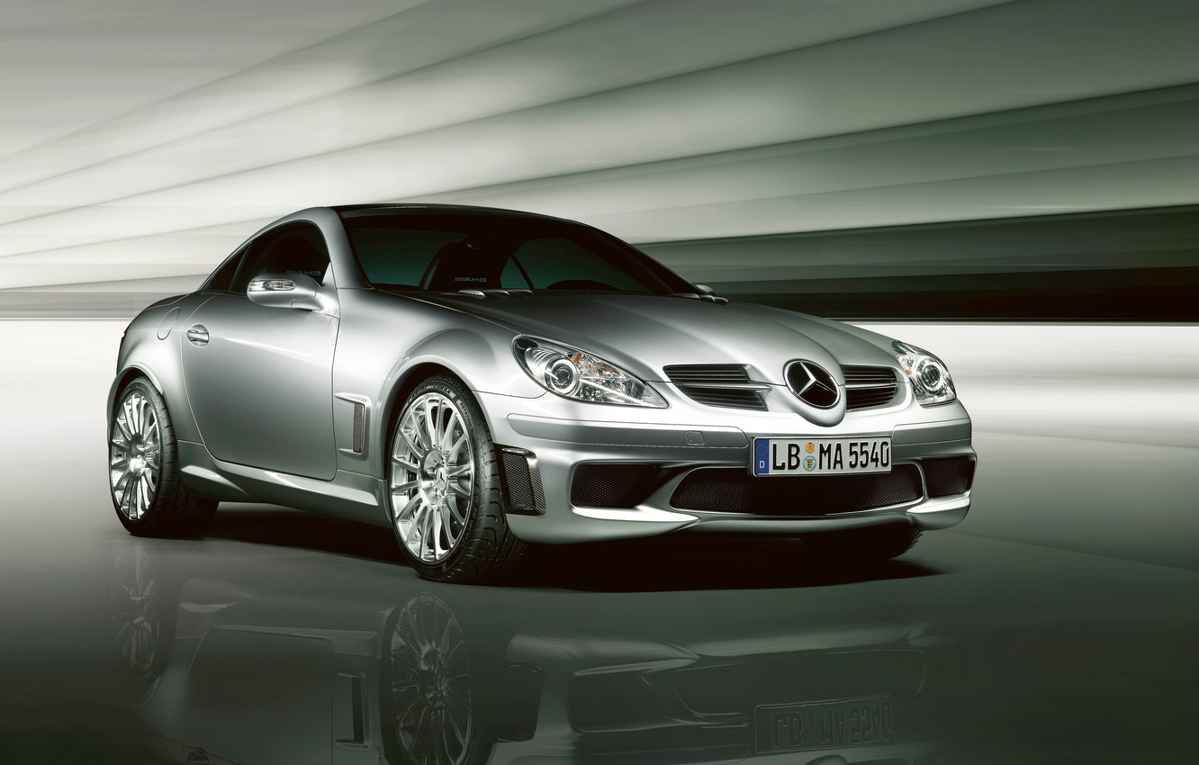 Photo wallpaper easy, Mercedes-Benz, car, AMG, sports, Special Edition, SLK-55, two-door, compact