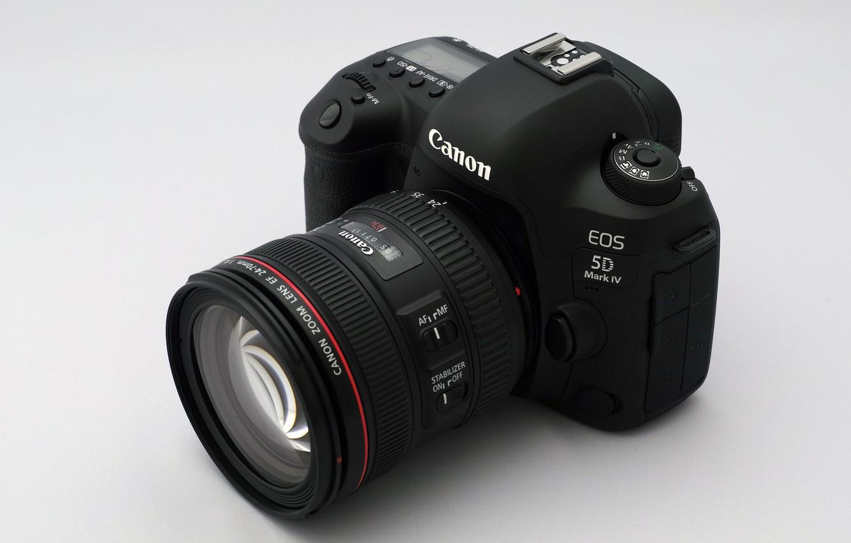 Photo wallpaper camera, Canon, lens, EOS 5D Mark IV