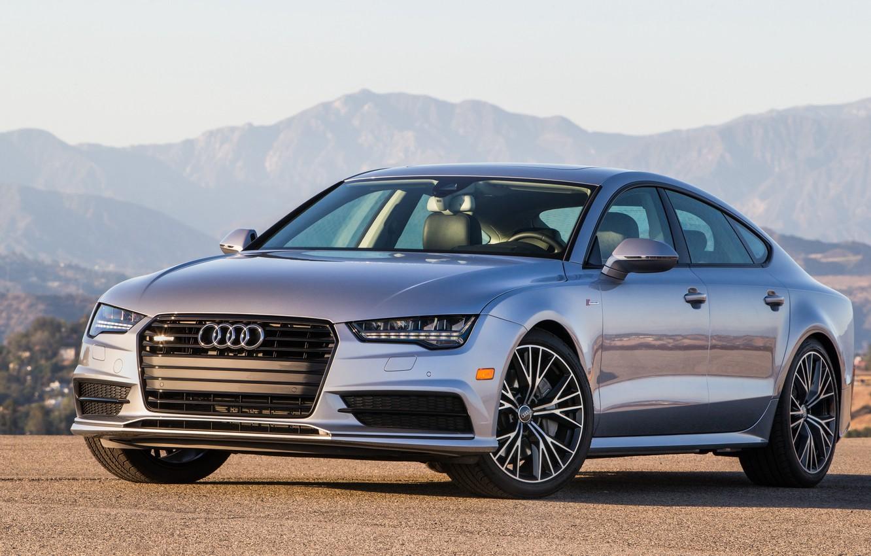 Photo wallpaper Audi, Audi, quattro, Sportback, S-Line, TFSI, US-spec, 2015