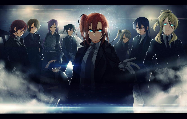 Photo wallpaper Love Live, Maki, Nishikido, Nico Yazawa, Kotori Minami, Hanae Koizumi, Honoka Kousaka, Nozomi Tojo, UMI …