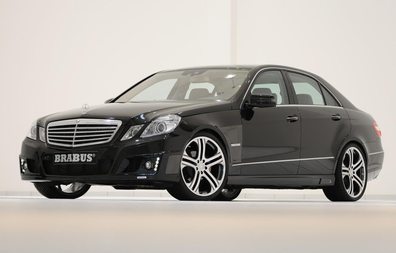 Photo wallpaper Mercedes-Benz, Brabus, e-class, w212