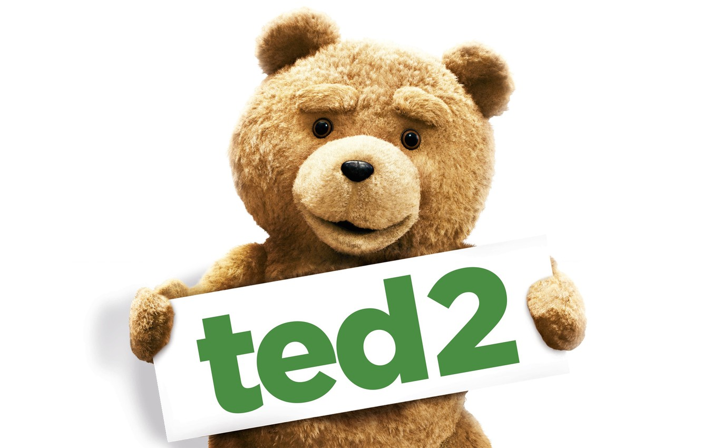 Photo wallpaper the film, Teddy bear, ted2, third лишний2