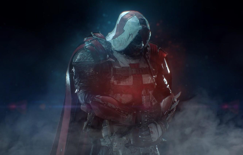 Wallpaper Azrael Sword Smoke Batman Arkham Knight Images For