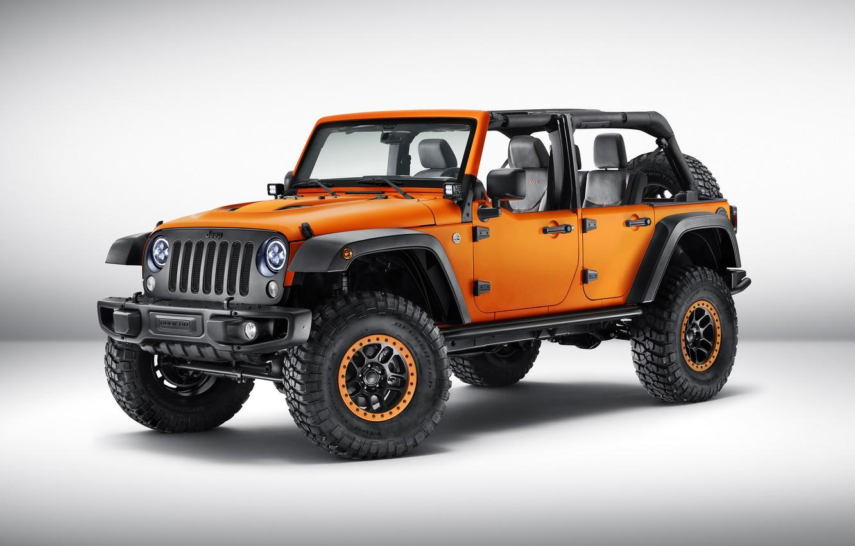 Photo wallpaper Concept, jeep, the concept, Wrangler, Jeep, 2015, Wrangler