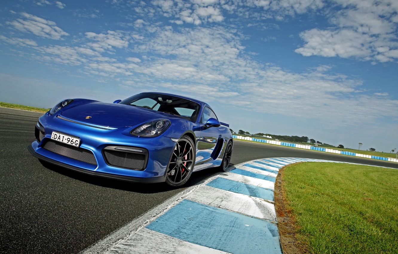 Photo wallpaper Porsche, Cayman, Porsche, GT4, Caiman