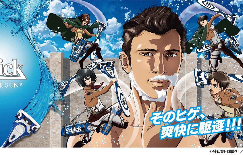 Wallpaper Water Girls Wall Form Guys Titan Razor Attack On Titan Attack Of The Titans Shingeki No Kyojin Mikasa Ackerman The Invasion Of The Titans Eren Yeager Titan Mikasa Ackerman Eren Yeager