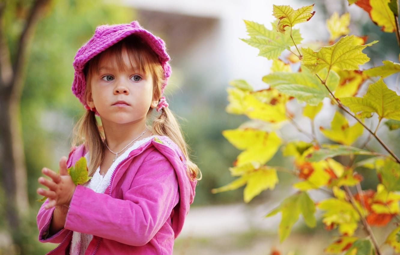 Photo wallpaper sadness, autumn, leaves, nature, children, child, sad, nature, autumn, leaves, sadness, child, childhood, children, sad, …