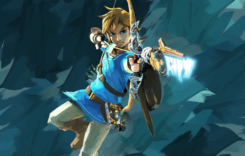 Wallpaper Nintendo Game Link The Legend Of Zelda Breath Of The