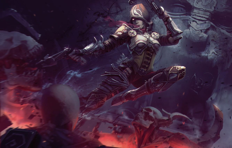 Wallpaper Demon Hunter Crossbow Diablo 3 Hood Images For