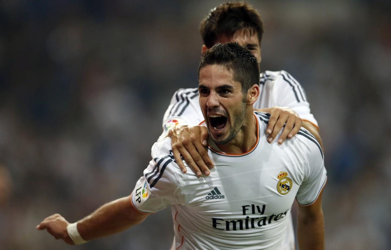Photo wallpaper Sport, Football, Real, Madrid, Real, Madrid, Talent, isco, ISCO, Alvaro Morata, Alvaro Morata