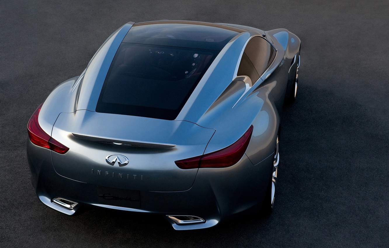 Photo wallpaper concept, essence, infinity, coupe