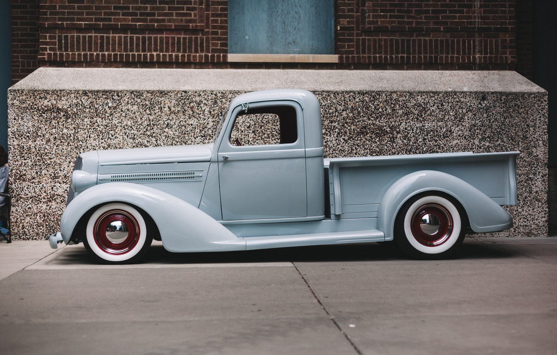 Photo wallpaper retro, Chevrolet, classic, pickup